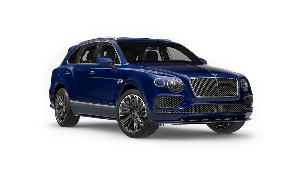 Bentley  Bentayga Moroccan Blue Colour