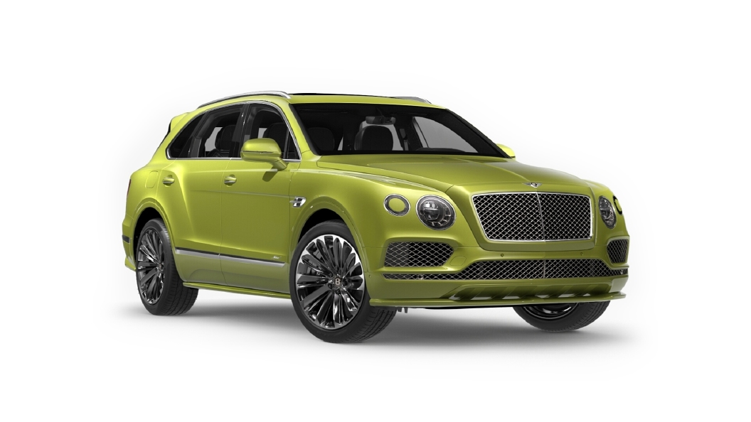 Bentley  Bentayga Radium Colour