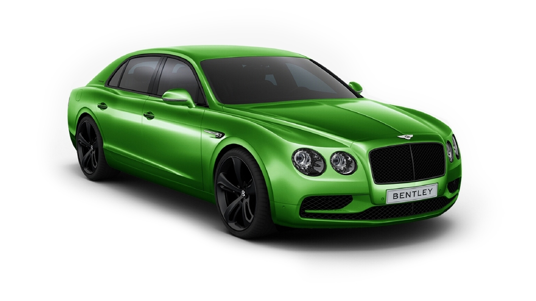Bentley  Continental Flying Spur Apple Green Colour