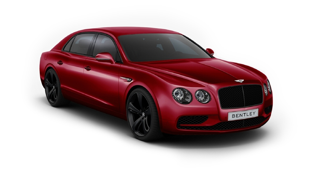 Bentley  Continental Flying Spur Candy Red Colour