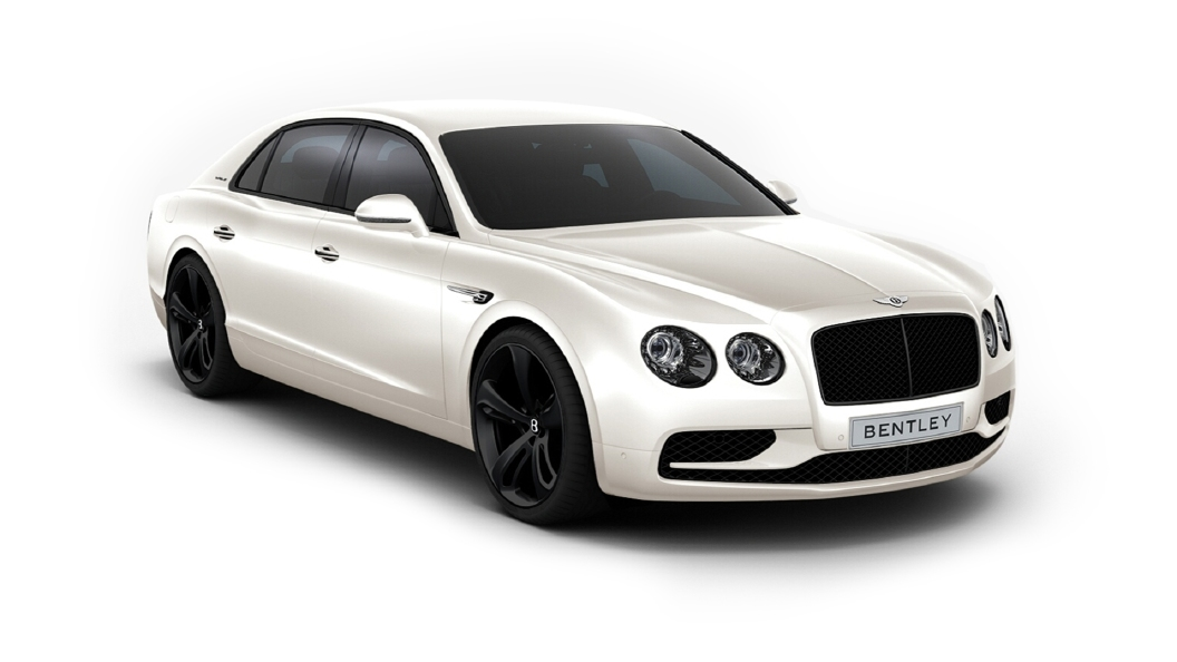 Bentley  Continental Flying Spur Glacier White Colour