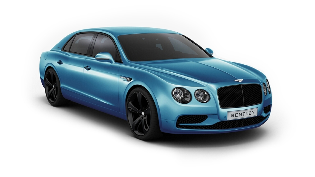 Bentley  Continental Flying Spur Kingfisher Colour