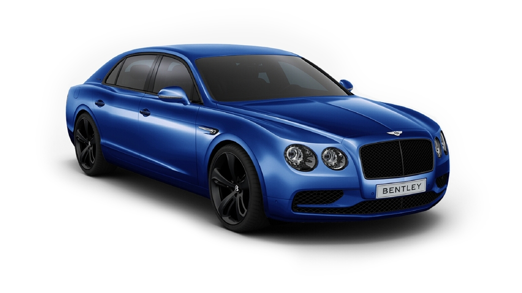 Bentley  Continental Flying Spur Moroccan Blue Colour