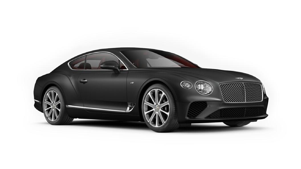 Bentley  Continental GT Anthracite Satin Colour