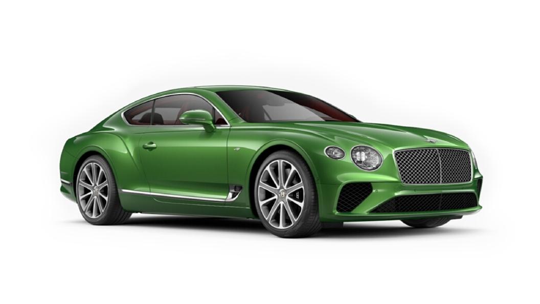 Bentley  Continental GT Apple Green Colour