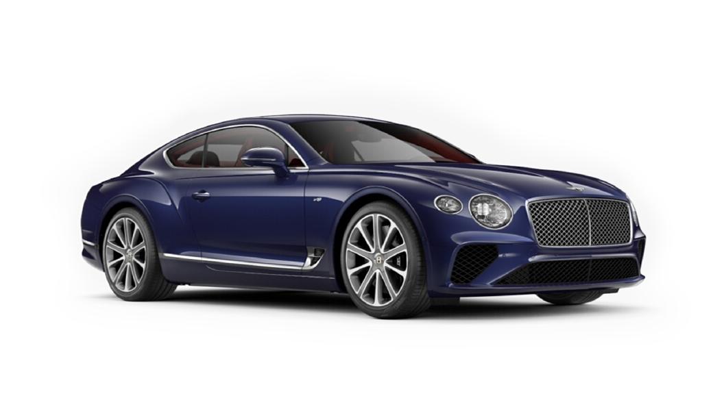 Bentley  Continental GT Azure Purple Colour
