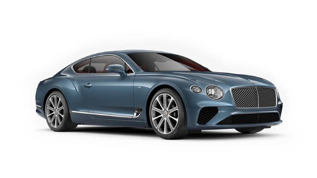 Bentley  Continental GT Blue Crystal Colour