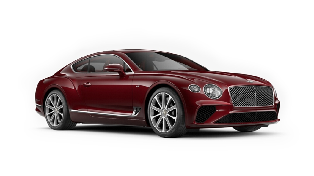 Bentley  Continental GT Candy Red Colour
