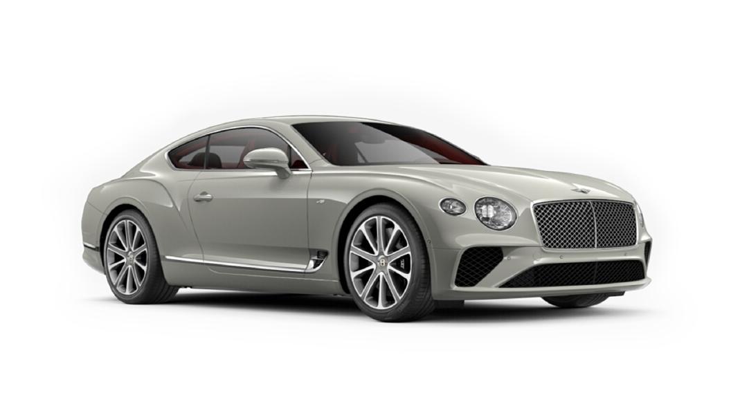Bentley  Continental GT Glacier White Colour