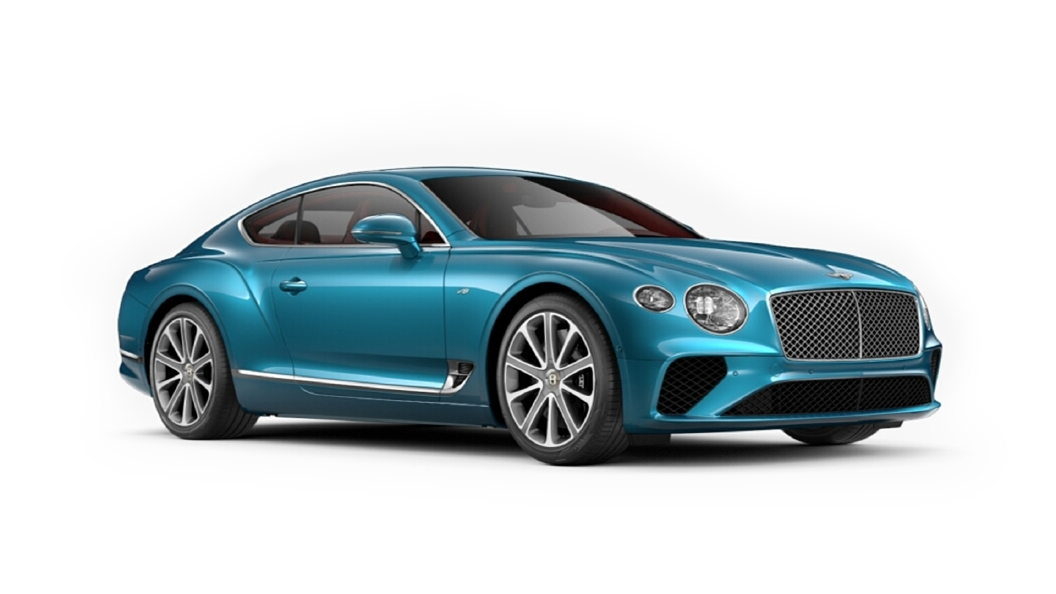 Bentley  Continental GT Kingfisher Colour