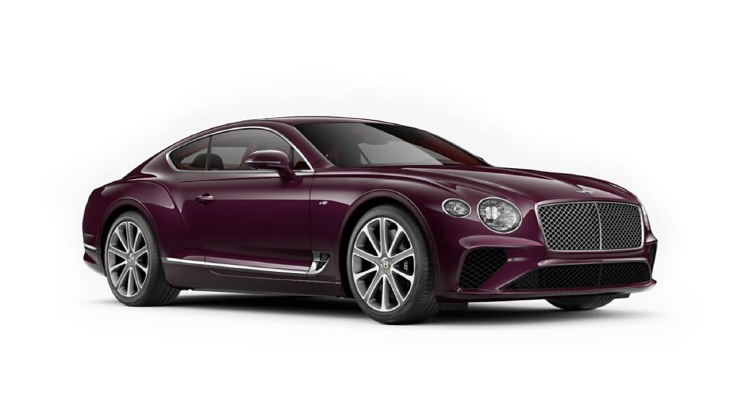Bentley  Continental GT Magenta Colour