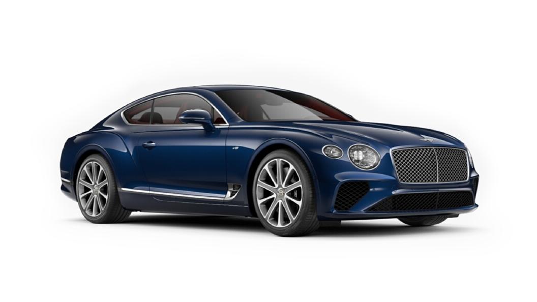 Bentley  Continental GT Moroccan Blue Colour