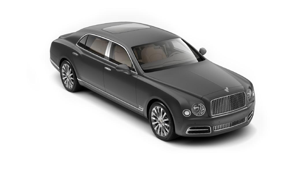Bentley  Mulsanne Anthracite Colour