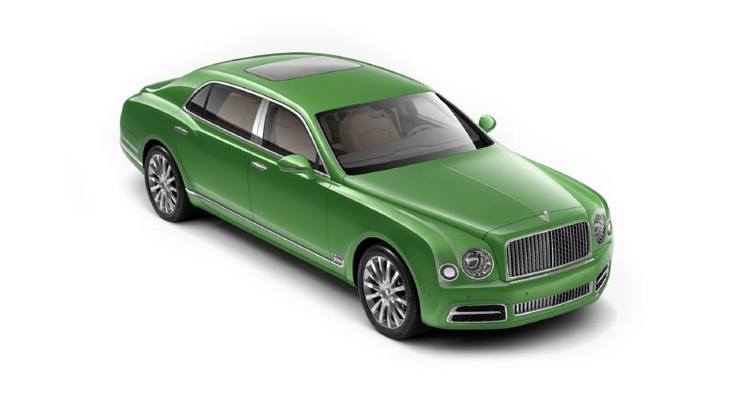 Bentley  Mulsanne Apple Green Colour