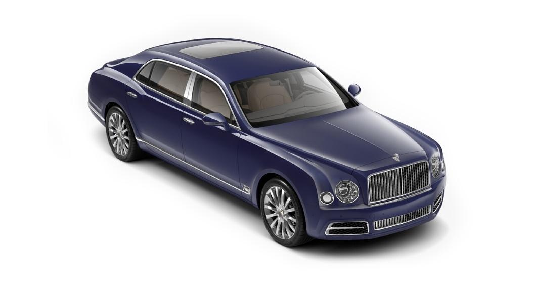 Bentley  Mulsanne Azure Purple Colour