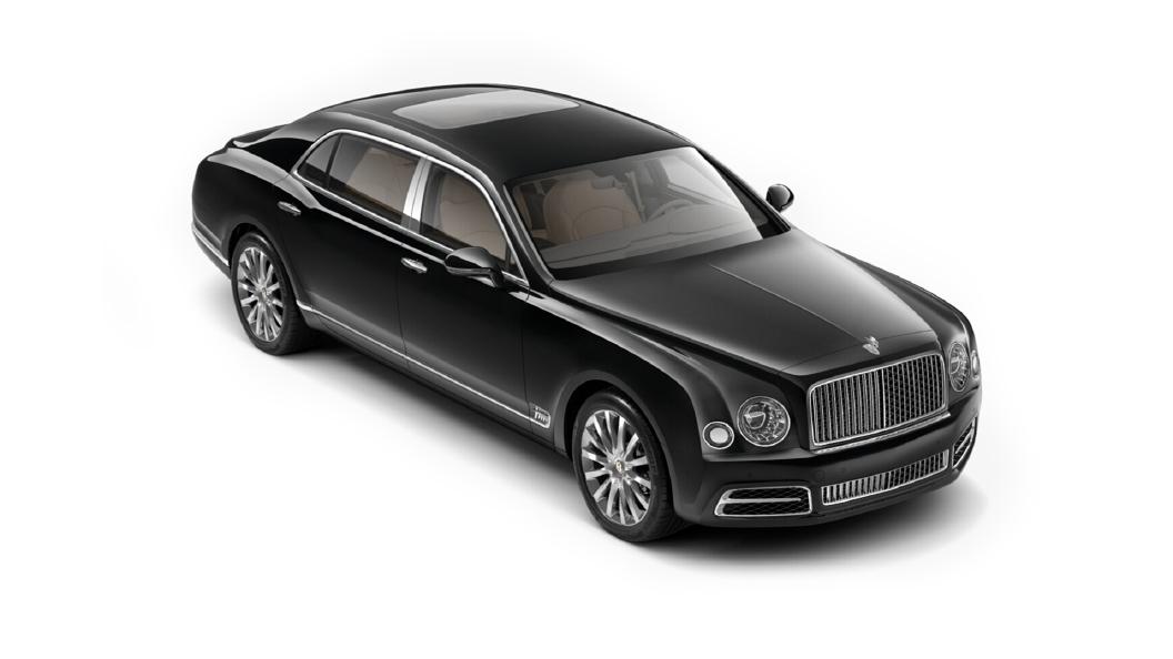 Bentley  Mulsanne Black Crystal Colour