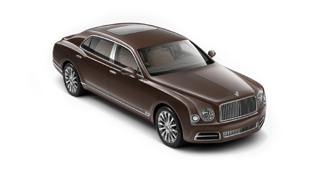 Bentley  Mulsanne Bronze Colour