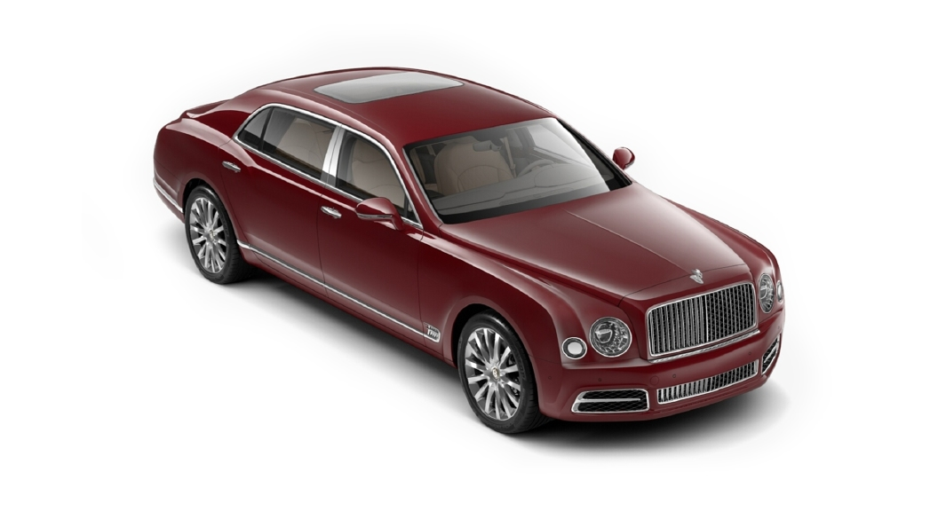 Bentley  Mulsanne Candy Red Colour