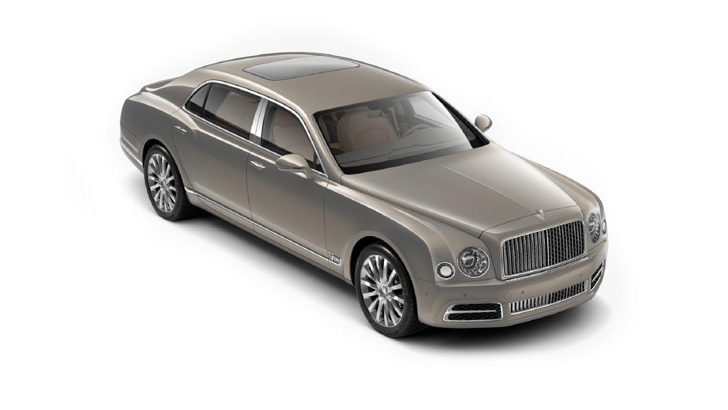 Bentley  Mulsanne Extreme Silver Colour
