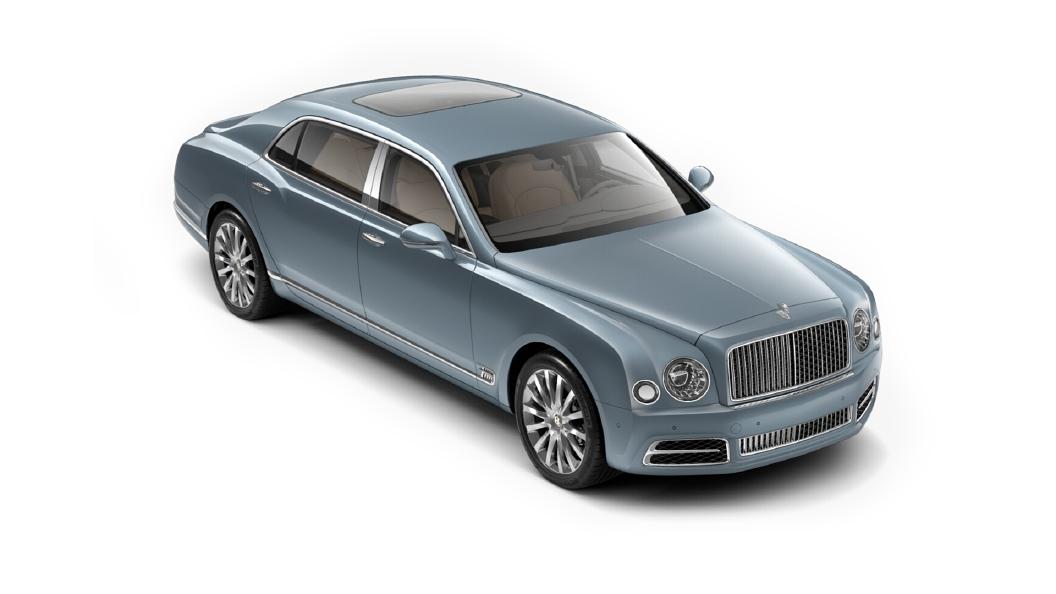 Bentley  Mulsanne Fountain Blue Colour