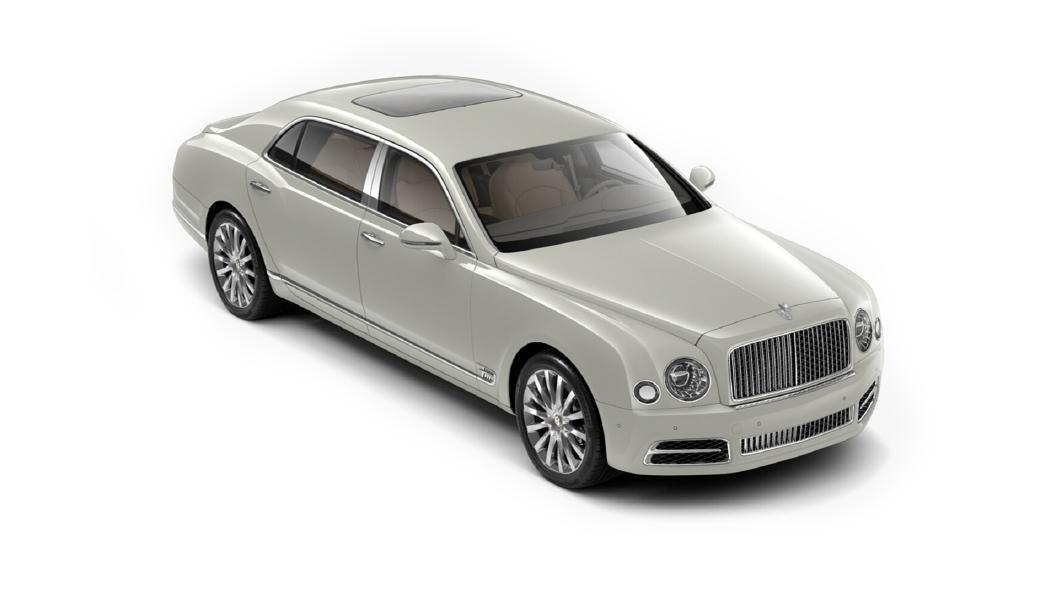 Bentley  Mulsanne Glacier White Colour