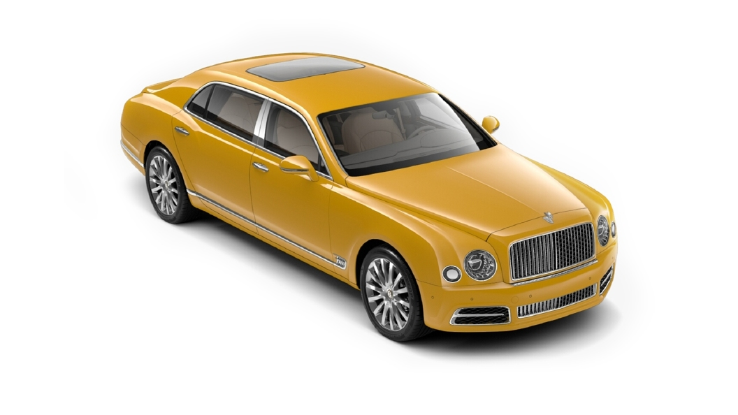Bentley  Mulsanne Monaco Yellow Colour