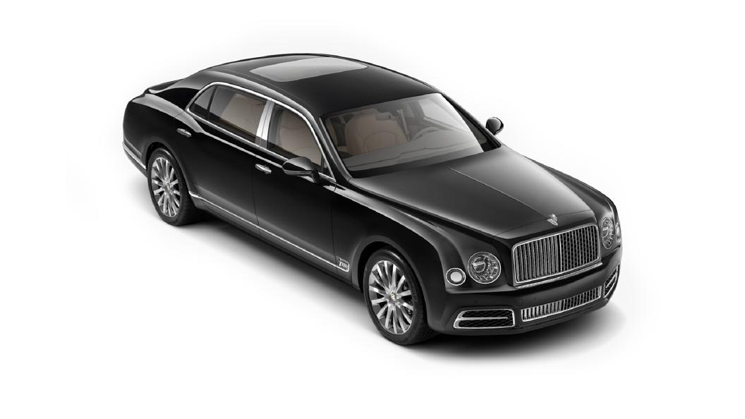 Bentley  Mulsanne Onyx Colour