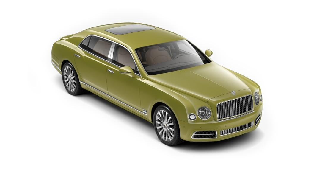 Bentley  Mulsanne Radium Colour