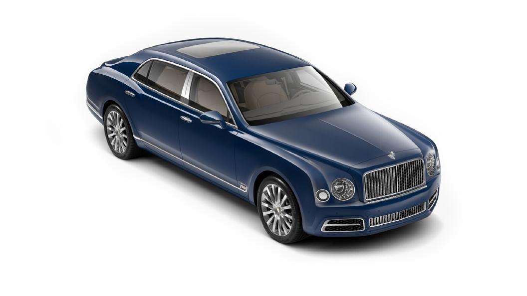 Bentley  Mulsanne Sequin Blue Colour