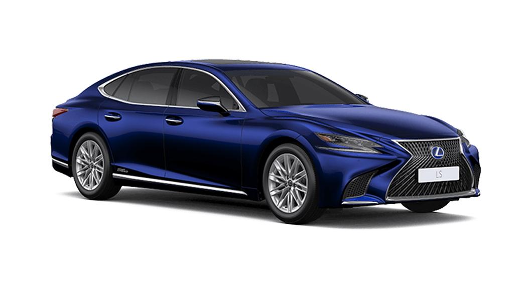 Lexus  LS Deep Blue Mica Colour
