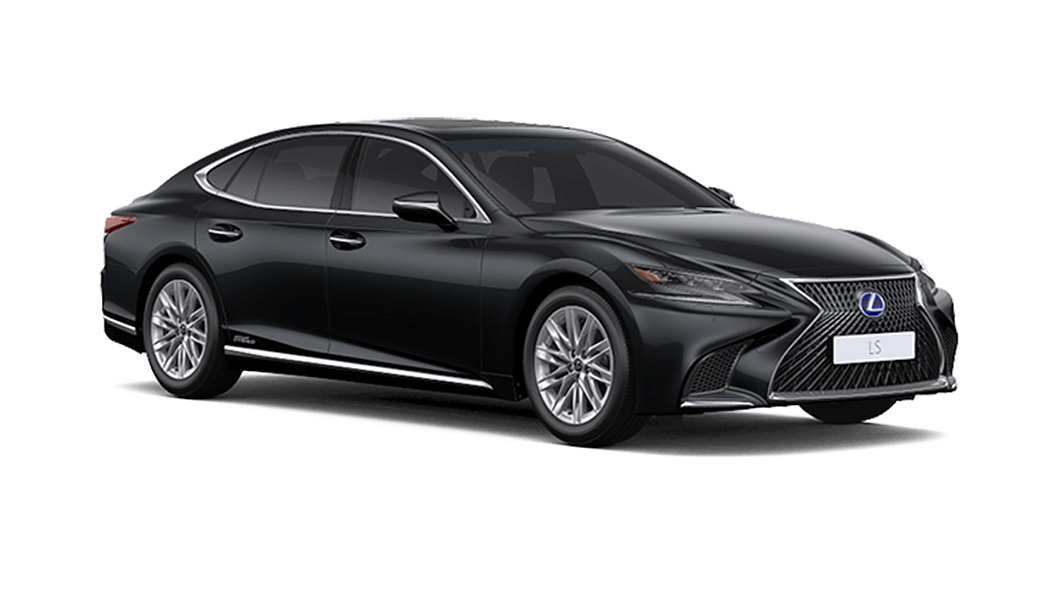 Lexus  LS Graphite Black Glass Flake Colour