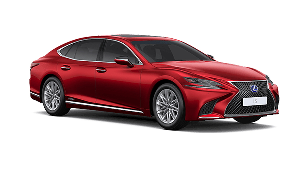 Lexus  LS Red Mica Crystal Shine Colour
