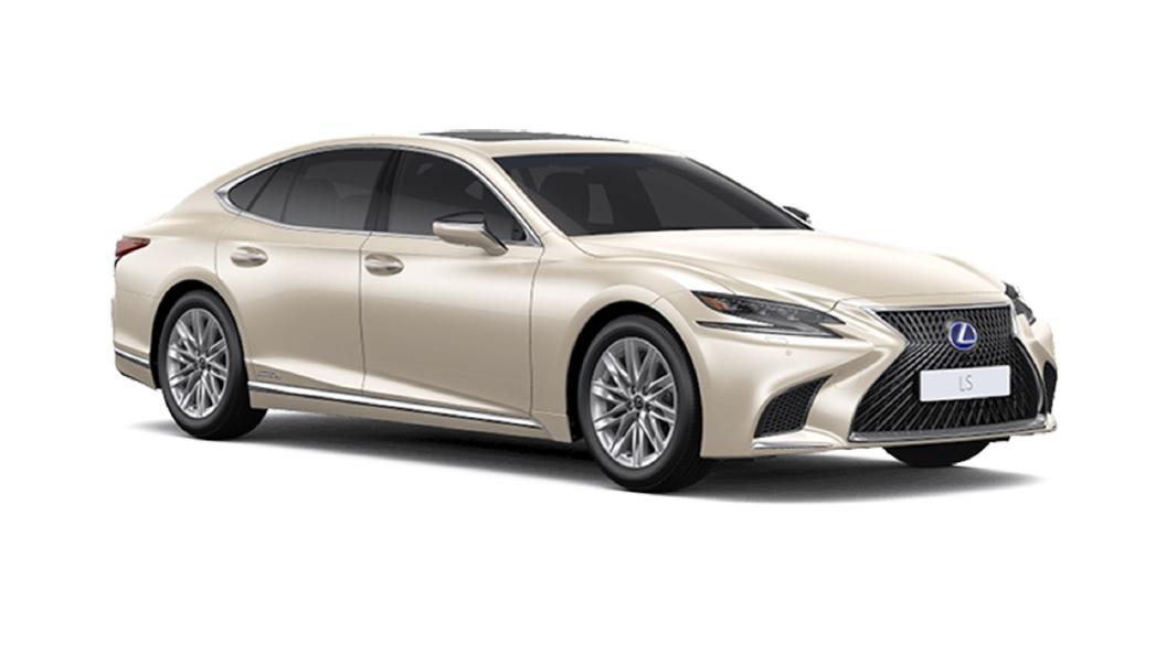 Lexus  LS Sleek Ecru Metallic Colour