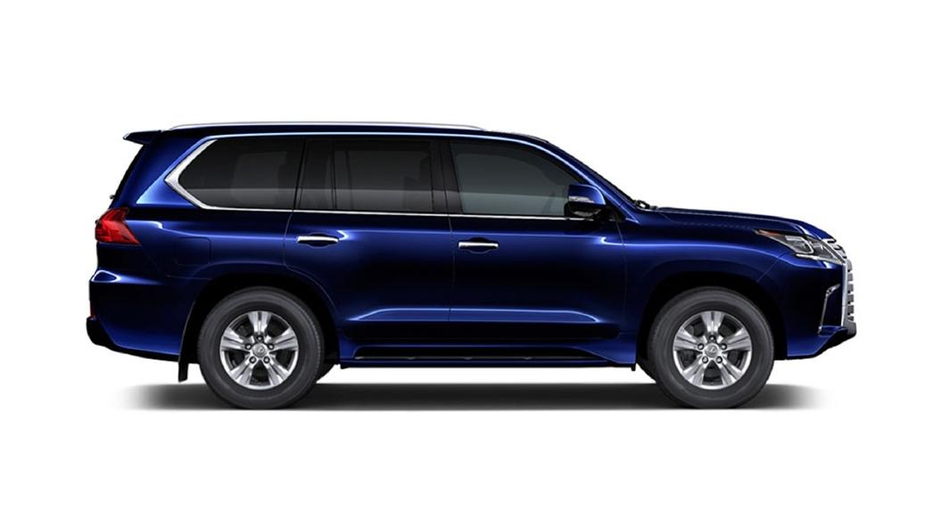 Lexus  LX Deep Blue Mica Colour