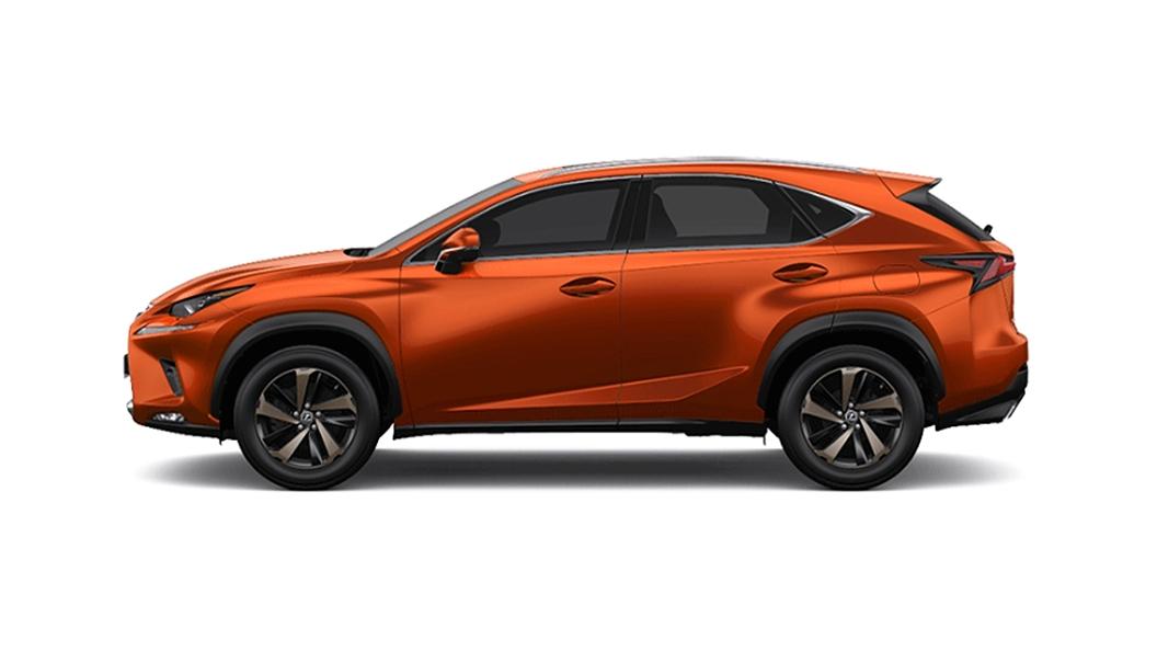Lexus  NX Blazing Carnelian Contrast Colour