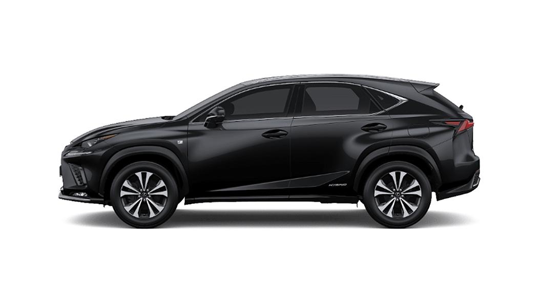 Lexus  NX Graphite Black Glass Flake Colour