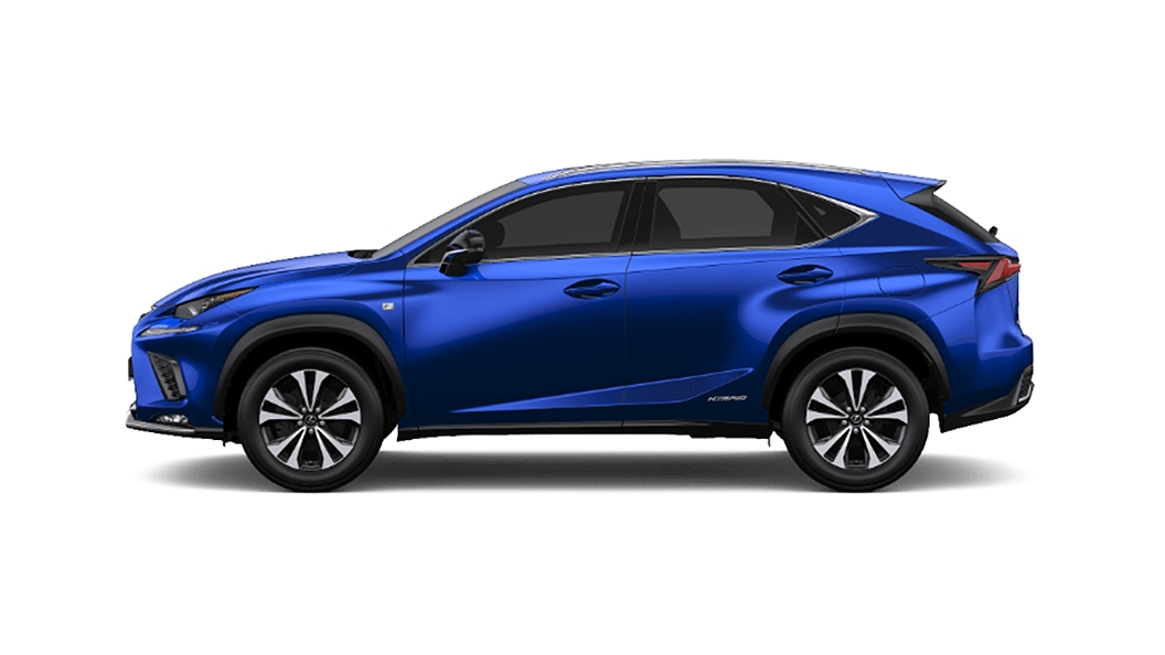 Lexus  NX Heat Blue Contrast Layering Colour