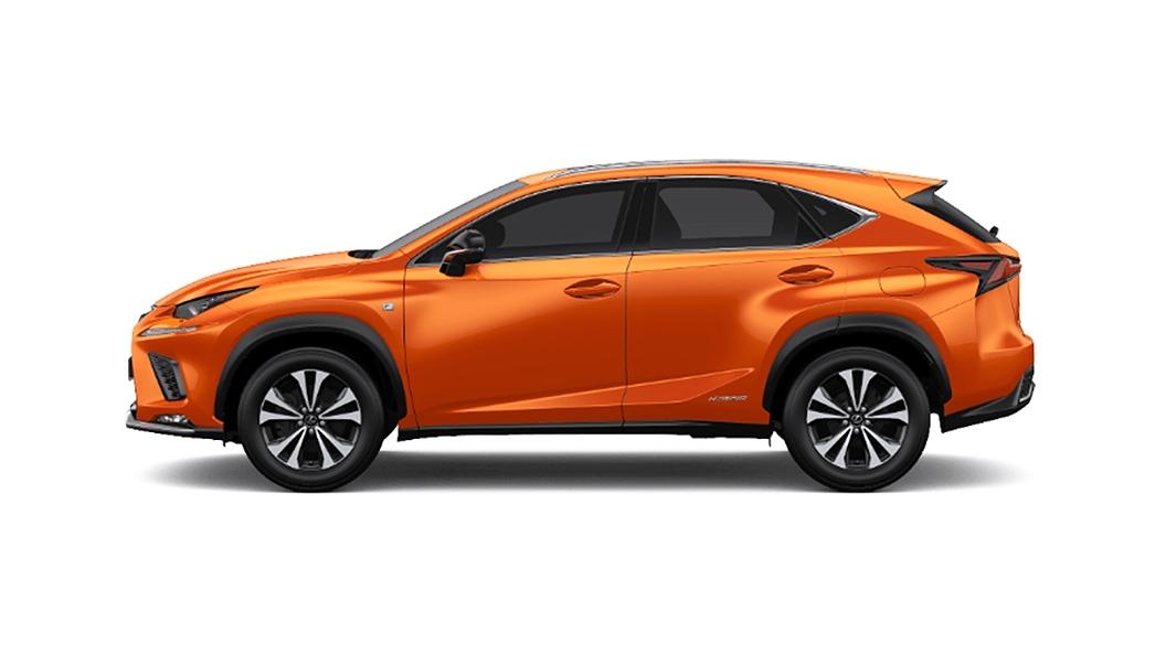 Lexus  NX Lava Orange Crystal Shine Colour
