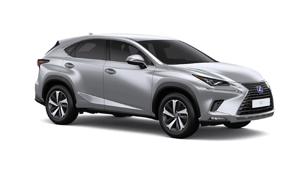 Lexus  NX Platinum Silver Metallic Colour