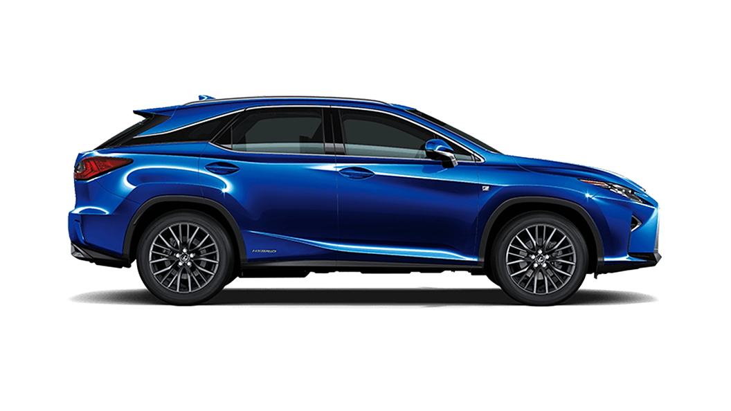 Lexus  RX Deep Blue Mica Colour