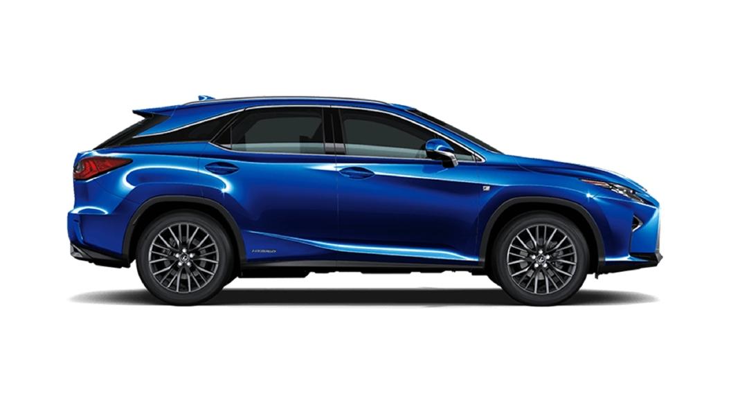 Lexus  RX Heat Blue Contrast Layer Colour