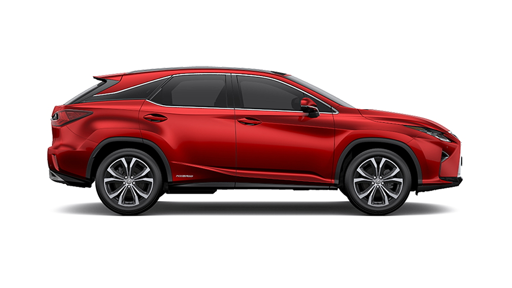 Lexus  RX Red Mica Crystal Shine Colour