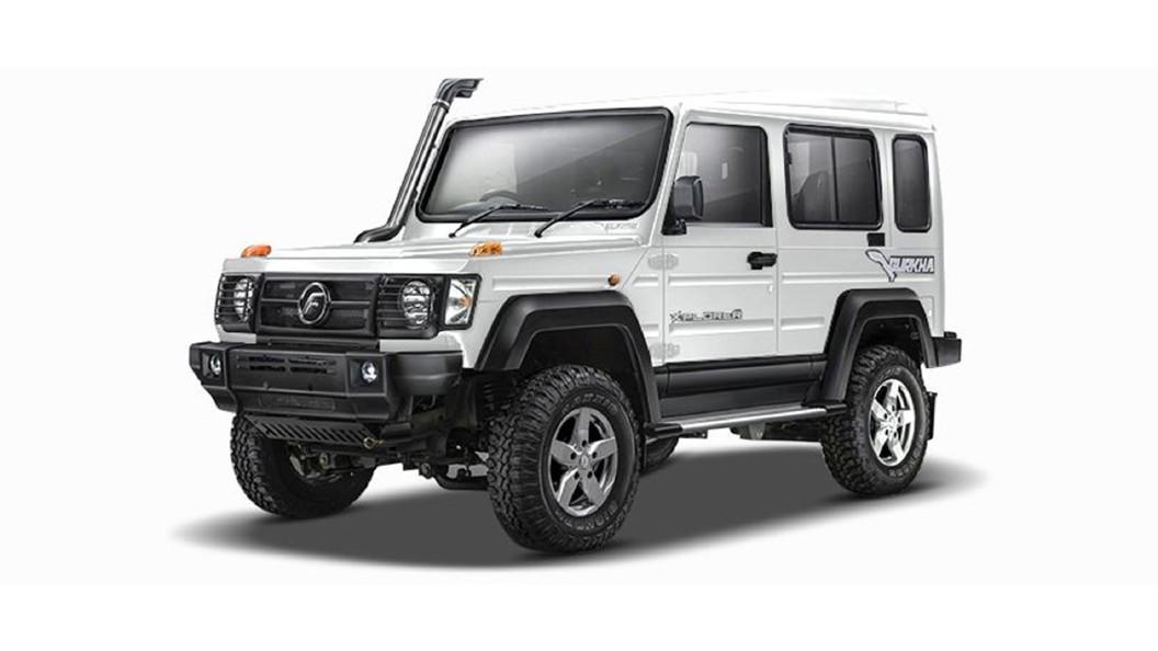 Force Motors  Gurkha Superior White Colour
