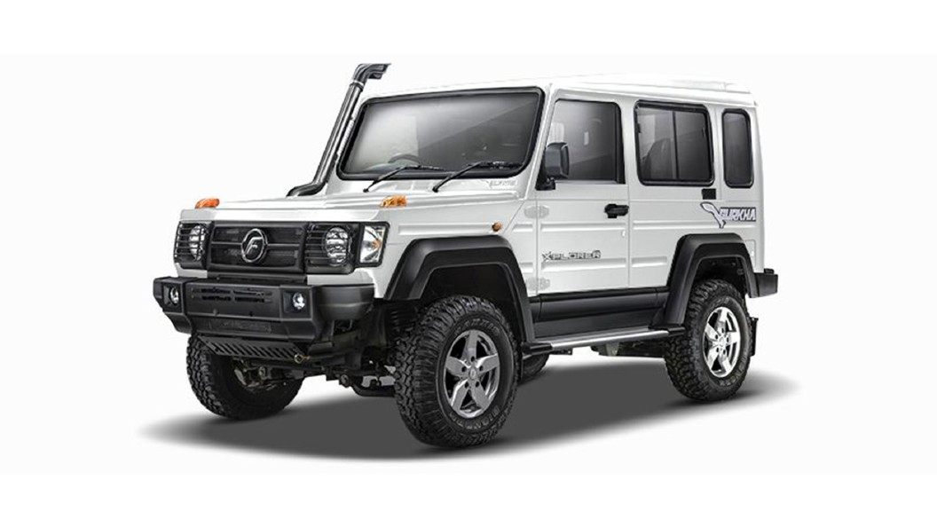 Force Motors  Gurkha Superior White Colour