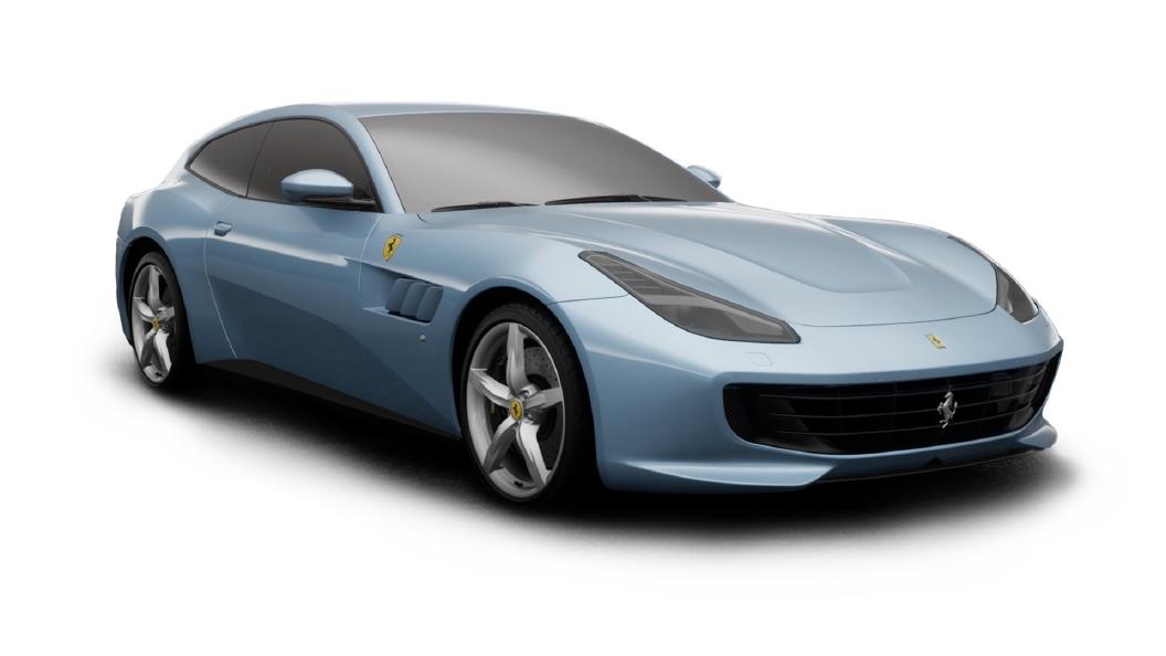 Ferrari  GTC4 Lusso Azzurro California Colour
