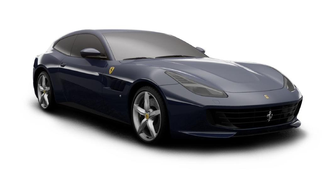 Ferrari  GTC4 Lusso Blu Scozia Colour