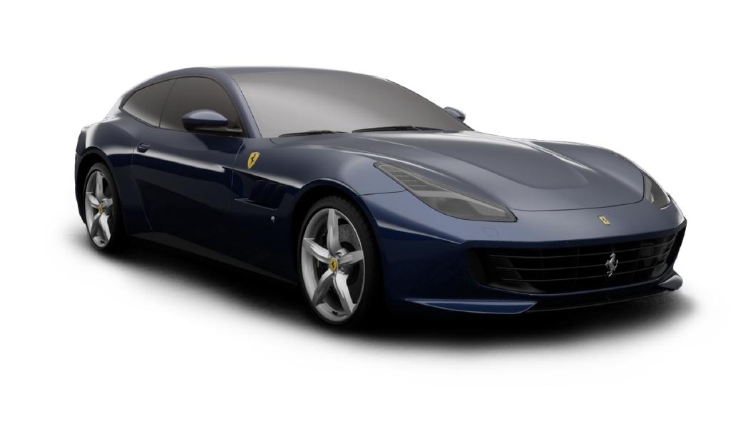 Ferrari  GTC4 Lusso Blu Tour De France Colour