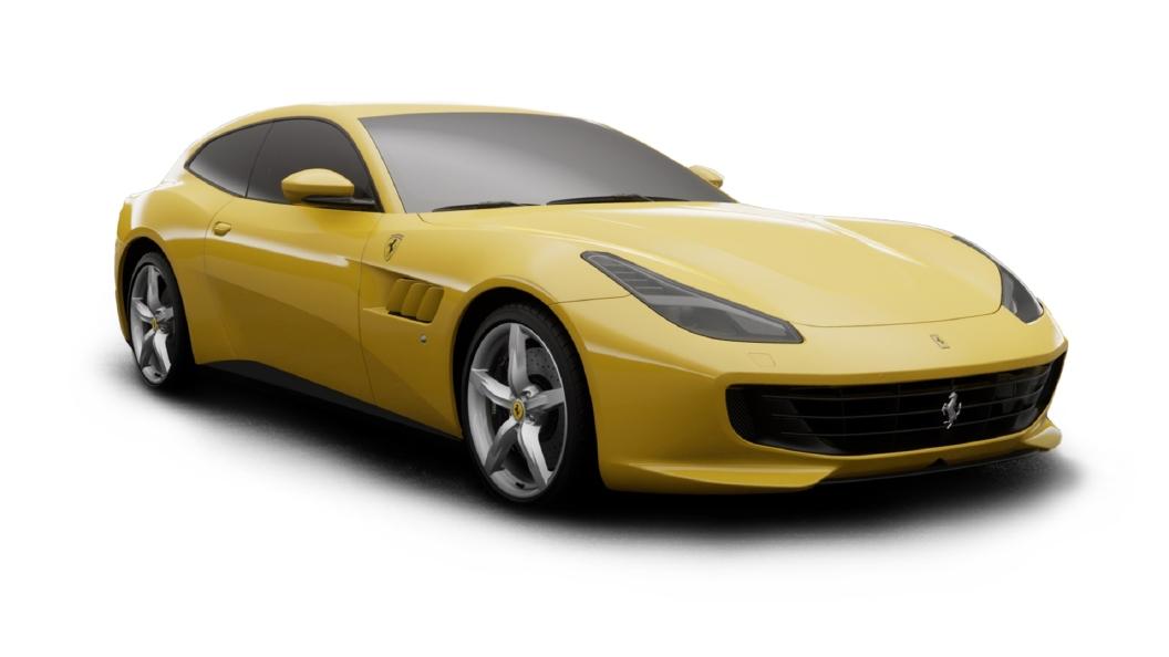 Ferrari  GTC4 Lusso Giallo Modena Colour