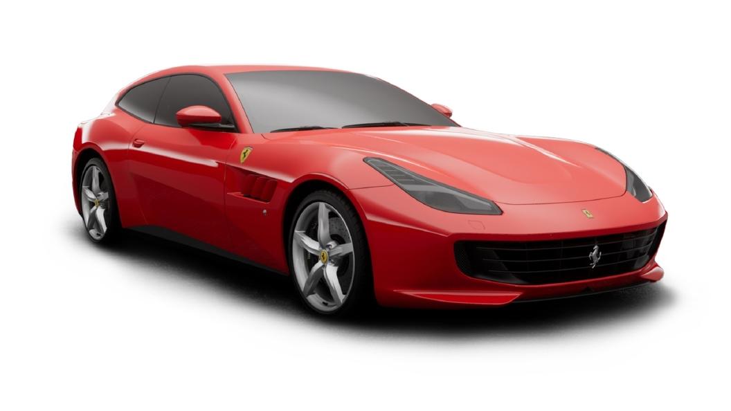 Ferrari  GTC4 Lusso Rosso Corsa Colour