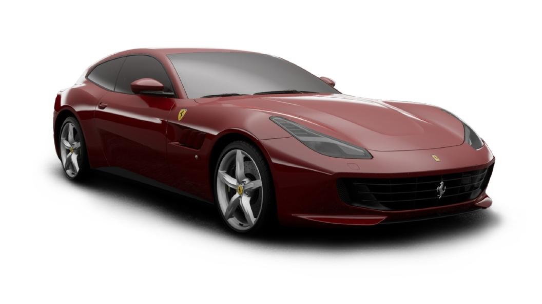Ferrari  GTC4 Lusso Rosso Mugello Colour